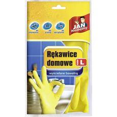 Jan Niezbędny Rękawice domowe wyściełane bawełną L