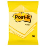 Post-it Karteczki samoprzylepne żółte 100 karteczek 76x76 mm