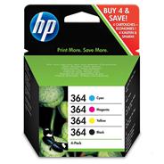 HP oryginalny tusz N9J73AE, HP 364 Combo pack, CMYK