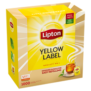 Lipton Yellow Label Herbata czarna 1,8 kg (1000 torebek)
