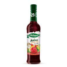 Herbapol Owocowa Spiżarnia Syrop owocowy o smaku malinowym z kwiatem lipy 8x420 ml