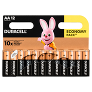 Baterie alkaliczne Duracell AA 12szt