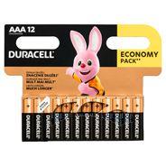 Baterie alkaliczne Duracell AAA 12szt