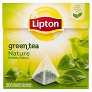 Lipton Nature Herbata zielona 30 g (20 torebek)