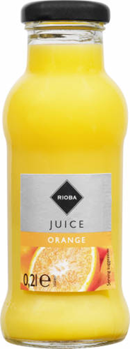 Rioba Sok pomarańczowy 0,2 l 24 sztuki