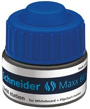 Schneider Maxx 665 Stacja uzupełniająca do markerów niebieski 30 ml