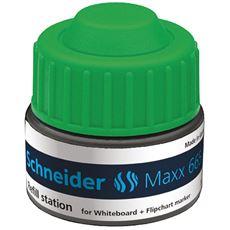 Schneider Maxx 665 Stacja uzupełniająca do markerów zielony 30 ml