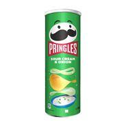 Pringles Chipsy Śmietankowo-cebulowe 165 g
