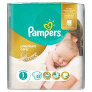 Pampers Premium Care rozmiar 1 (Newborn), 2–5kg, 22 pieluszki