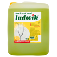 Ludwik Płyn do mycia naczyń cytrynowy 10 kg