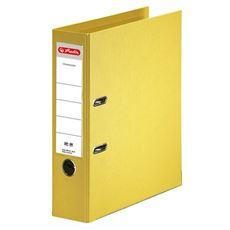 Herlitz max.file Segregator żółty A4 80 mm