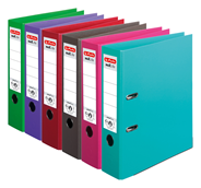 Herlitz max.file Segregator mix kolorów A4 80 mm