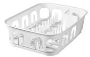 Curver Essentials Suszarka do naczyń prostokątna biała 39x29x10,1 cm