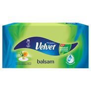 Velvet Balsam Chusteczki uniwersalne z ekstraktem z aloesu i nagietka 70 sztuk