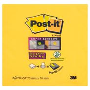 Post-It Super Stick Z-Notes Karteczki samoprzylepne 90 karteczek 76x76 mm