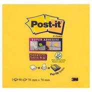 Post-It Super Stick Z-Notes Karteczki samoprzylepne 90 karteczek 76x76 mm
