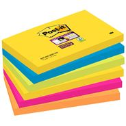 Post-it 655 Super Stick Karteczki samoprzylepne 90 karteczek 76x127 mm