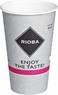 Rioba Kubki papierowe do gorących napojów 400 ml 50 sztuk