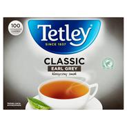 Tetley Classic Earl Grey Herbata czarna aromatyzowana 160 g (100 torebek)