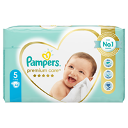 Pampers Premium Care Pieluchy 5 (Junior), 11-18 kg, 44 sztuki