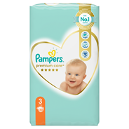Pampers Premium Care Pieluchy 60 sztuk