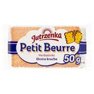 Jutrzenka Petit Beurre Herbatniki ekstra kruche 50 g