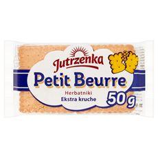 Jutrzenka Petit Beurre Herbatniki ekstra kruche 50 g 20 sztuk