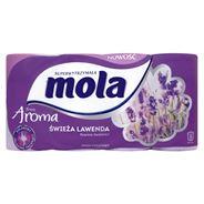 Mola Fresh Aroma Świeża Lawenda Papier toaletowy 8 rolek
