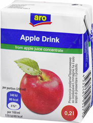 ARO napój jabłkowy 0,2L