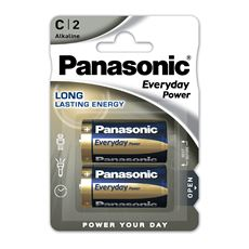 Baterie Alkaliczne Panasonic Everyday Power. Typ C (LR14)