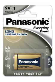 Bateria Alkaliczna Panasonic Everyday Power. Typ 9V (6LR61)