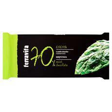Terravita Czekolada nadziewana miętowa 100 g