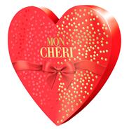 Bombonierka Mon Cherri w kształcie serca 147g