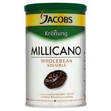 Jacobs Krönung Millicano Kompozycja kawy rozpuszczalnej i bardzo drobno zmielonych ziaren kawy 95 g