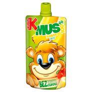 Kubuś Mus 100% banan jabłko 100 g 12 sztuk