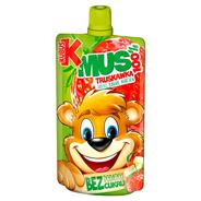 Kubuś Mus 100% truskawka jabłko banan marchew 100 g 12 sztuk