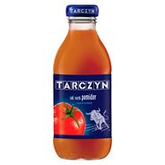 Tarczyn Pomidor z dodatkiem soli morskiej Sok 100% 300 ml 15 sztuk