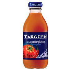 Tarczyn Pomidor pikantny z dodatkiem soli morskiej i przypraw Sok 100% 300 ml