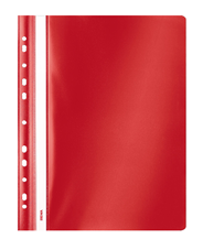 Sigma Skoroszyt z performacją czerwony PP A4
