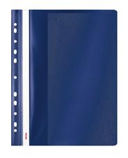 Sigma Skoroszyt z performacją granatowy PP A4