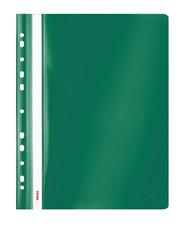 Sigma Skoroszyt z performacją zielony PP A4