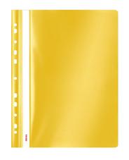 Sigma Skoroszyt z performacją żółty PP A4