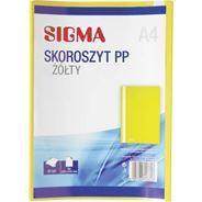 Sigma Skoroszyt żółty A4 25 sztuk