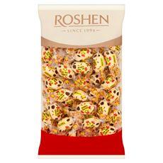 Roshen Ko-Ko Choco White Cukierki wypełnione kremami śmietankowym i waniliowym w białej polewie 1 kg