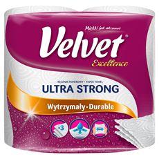 Velvet Excellence Ręcznik papierowy chłonne gąbki 2 rolki