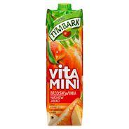 Tymbark Vitamini Sok brzoskwinia marchew jabłko 1 l