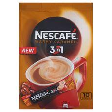 Nescafé 3in1 Warmy Caramel Rozpuszczalny napój kawowy 160 g (10 saszetek)