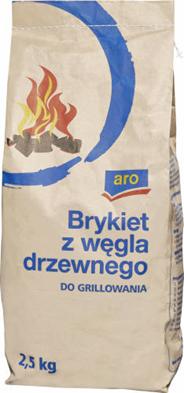 Aro Brykiet węgla 2,5kg