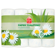 Fine Life Papier toaletowy rumiankowy 3-warstwowy 12 rolek