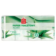 Fine Life Papier toaletowy aloes 8 rolek